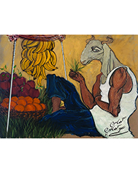 poster for Mustafa Khan - Eating Grass (Prints)
